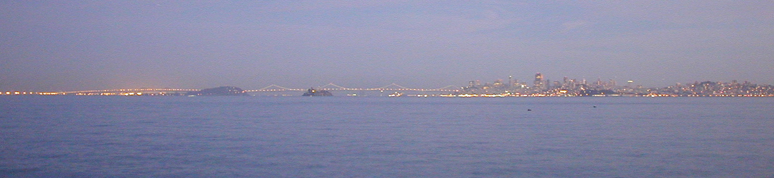 SF at Dusk